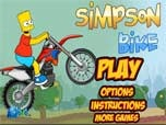 Juega Simpson Bike